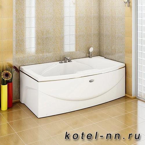 Акриловая ванна Радомир Сиэтл 190x100, с рамой-подставкой (1-01-0-0-1-036)