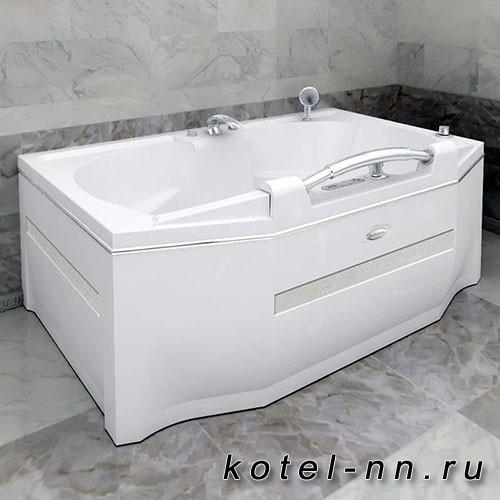 Акриловая ванна Радомир Конкорд 180x120, с рамой-подставкой (1-01-0-0-1-025)