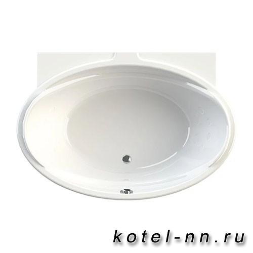 Акриловая ванна Радомир Лагуна 185x124, с рамой-подставкой (1-01-0-0-1-026)