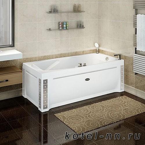Акриловая ванна Радомир Парма-Дона 180x85 L, с рамой-подставкой (1-01-0-1-1-035)