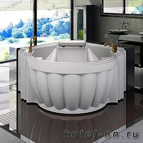 Акриловая ванна Радомир (Fra Grande) Монте-Карло 149х149, с рамой-подставкой (4-01-0-0-1-402П)