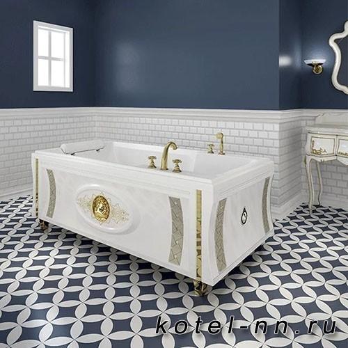 Гидромассажная ванна Радомир (Fra Grande) Руссильон-BRONZE 180х90, на ножках (4-01-4-0-0-424)