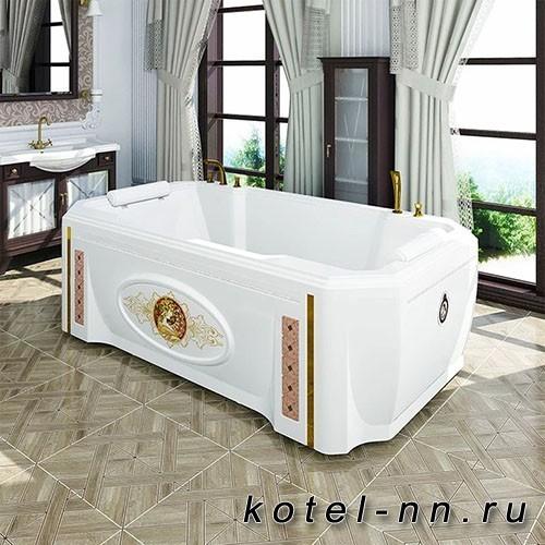Акриловая ванна Радомир Фонтебло 210х120, с рамой-подставкой (4-01-0-0-1-416)