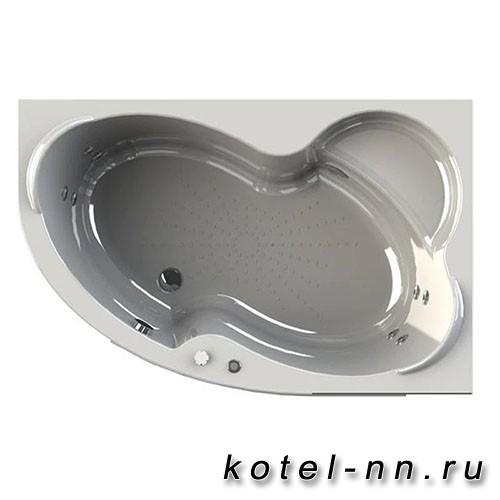Гидромассажная ванна Радомир (Вахтер) Ирма 150х97 R форсунки хром (3-01-2-2-0-313)