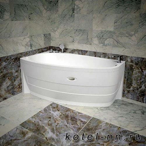 Акриловая ванна Радомир Орсини 160х90, L с рамой-подставкой (1-01-0-1-1-032)