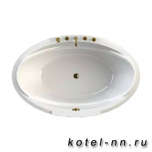 Акриловая ванна Радомир (Fra Grande) Гранада 185х119, с рамой-подставкой (4-01-0-0-1-404П)