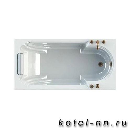 Акриловая ванна Радомир (Fra Grande) Анабель Bronze 170х85, с рамой-подставкой (4-01-4-0-1-420)