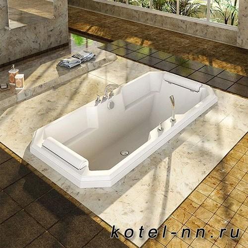 Акриловая ванна Радомир (Fra Grande) Фернандо 190х90, на ножках (комплектация золото) (4-01-3-0-1-422)
