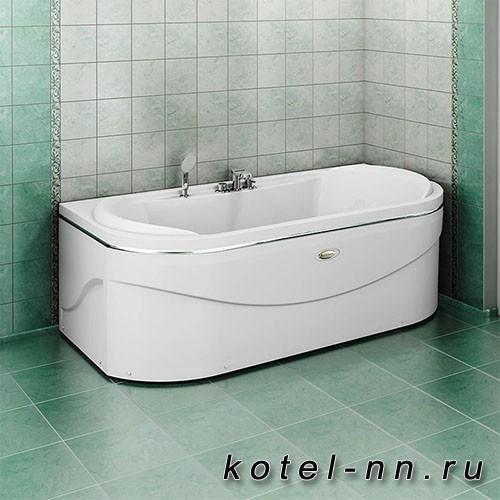Акриловая ванна Радомир Титан-Лонг 200x100, с рамой-подставкой (1-01-0-0-1-040)