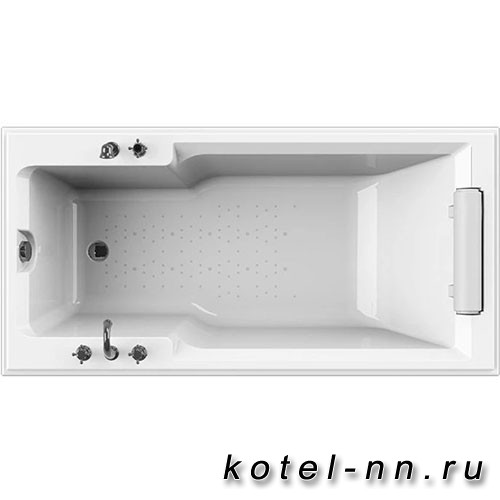 Акриловая ванна Радомир (Fra Grande) Руссильон 180х90, на ножках (комплектация хром) (4-01-2-0-1-424)