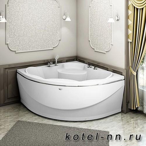 Акриловая ванна Радомир Верона 149x149, с рамой-подставкой (1-01-0-0-1-024)