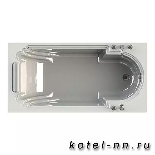 Акриловая ванна Радомир (Fra Grande) Анабель 170х85, с рамой-подставкой (комплектация хром) (4-01-2-0-1-417)
