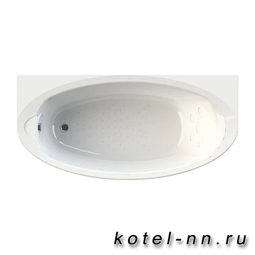 Акриловая ванна Радомир Неаполи 180x85, с рамой-подставкой (1-01-0-0-1-031)