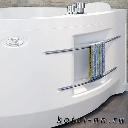 Гидромассажная ванна Радомир (Вахтер) Ирма 169х110 R форсунки белые (3-01-1-2-0-314)