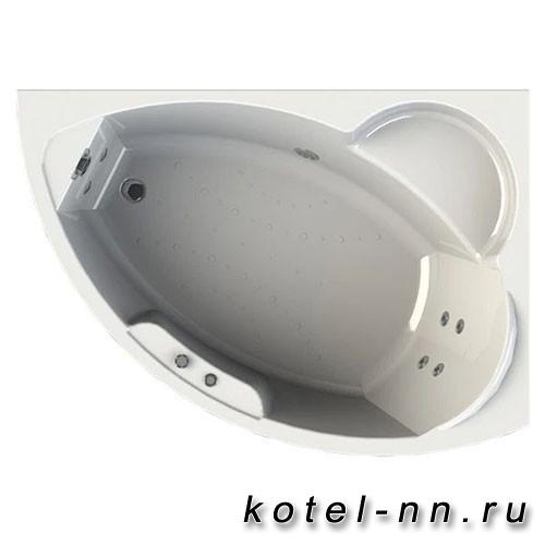 Гидромассажная ванна Радомир (Вахтер) Алари 1680х1200, R форсунки хром (3-01-2-2-0-315)