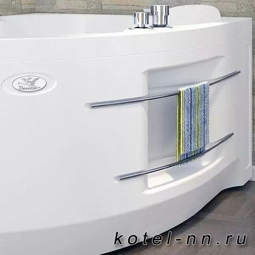 Акриловая ванна Радомир (Vannesa) Ирма 160х105 (левосторонняя)(2-01-0-1-1-229)