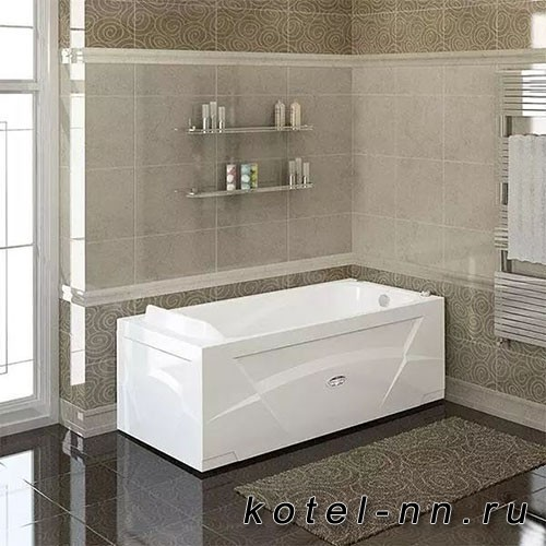 Акриловая ванна Радомир (Vannesa) Роза 169х77 (2-01-0-0-1-208)