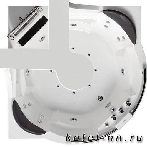 Акриловая ванна Gemy (G9070 O)