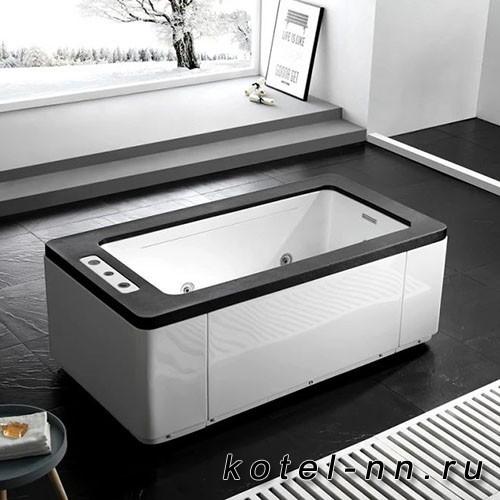 Акриловая ванна Gemy (G9253 Black)