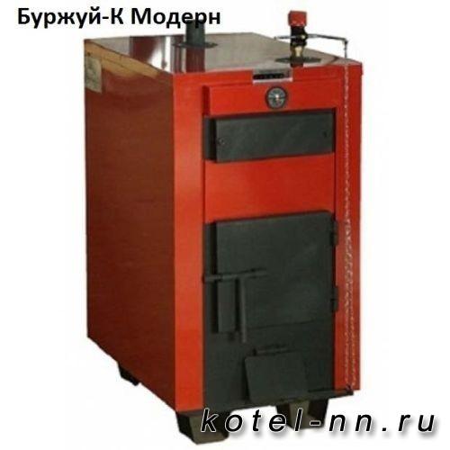 Пиролизный твердотопливный котел Буржуй-К Модерн 32