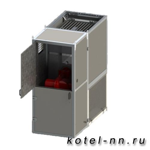 Промышленный Воздухонагреватель TITAN Air NSV наружнее вертикальное исполнение
