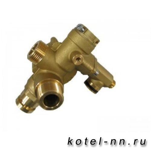 3-ходовой клапан/гидравлич. переключатель в сборе для котлов Baxi ECO, LUNA арт. 607250