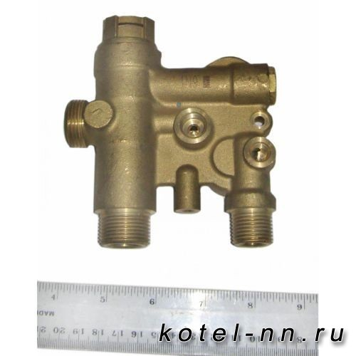 3-ходовой клапан в сборе для котлов BAXI ECO Four, ECO-3 COMPACT арт. 5693870