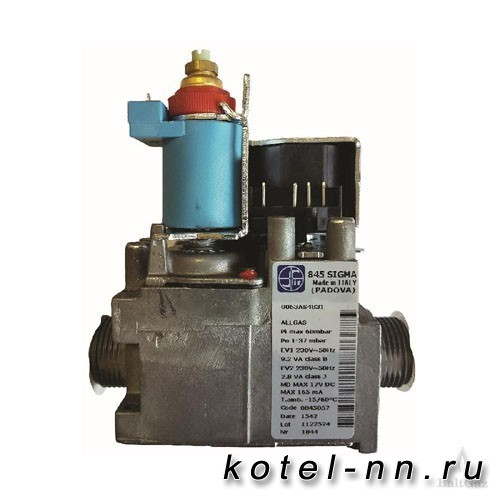 Регулятор подачи газа Baltgaz 845 Sigma