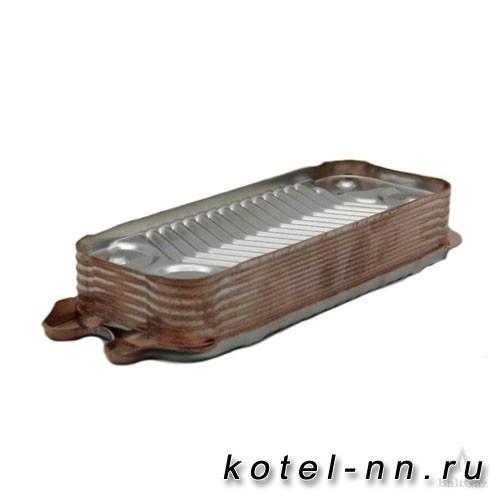 Теплообменник ГВС вторичный 12 пластин Baltgaz  для Protherm, Vaillant Tec Pro Mini арт.0020059452