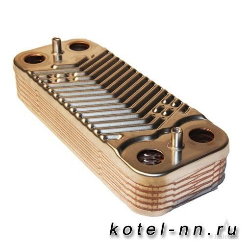 Теплообменник вторичный 12 пластин Baltgaz арт.8924-06.054
