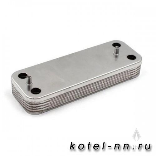 Теплообменник вторичный Baltgaz для BAXI 10 пластин арт.5686660/5653650