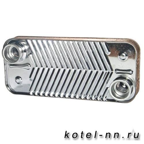 Теплообменник вторичный ГВС 10 пластин Baltgaz 192 x 142 NAVIEN арт.30004993A (Оригинал)