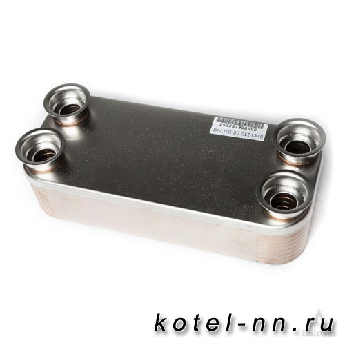 Теплообменник вторичный ГВС Baltgaz арт.2060333