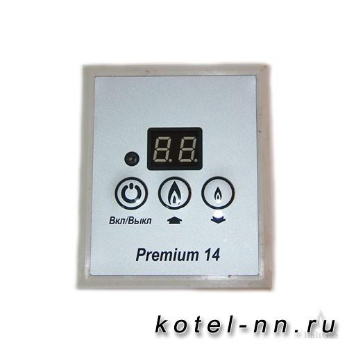 Панель управления BaltGaz 14 Premium, цвет – белый алюминий, арт. 6114-24.000