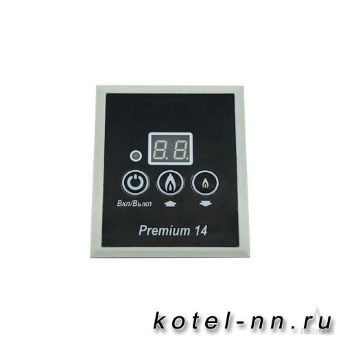 Панель управления BaltGaz 14 Premium, цвет – черный, арт. 6114-24.000-01