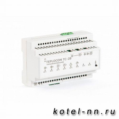 Теплоконтроллер для каскада котлов TEPLOCOM Каскад TC-2B