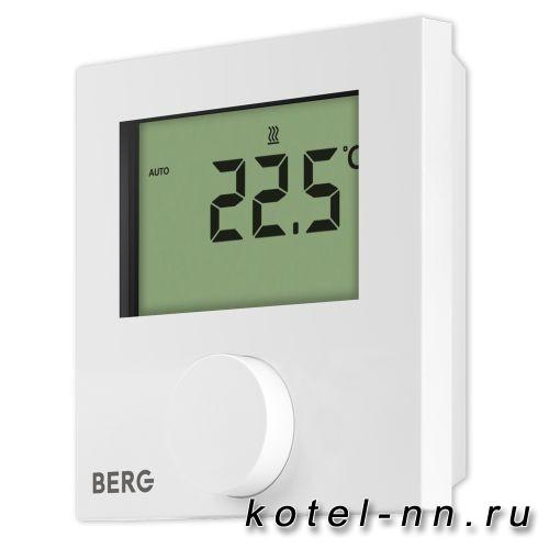 Berg BT30-230 термостат, цифровой с дисплеем, не программируемый