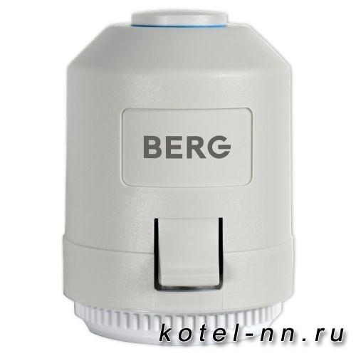 Berg BA30NC-230 сервопривод, нормально закрытый, M30х1,5 мм, 230v
