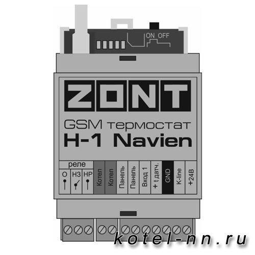 ZONT H-1 NAVIEN GSM-термостат для газовых котлов Navien (Корея)
