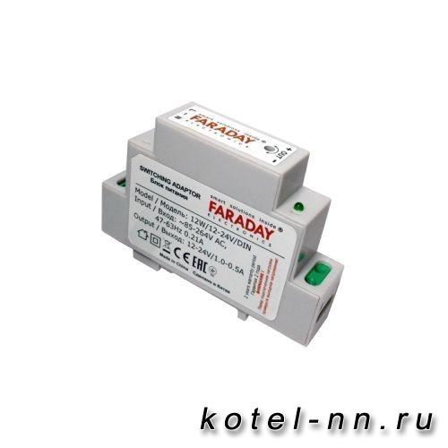 Импульсный блок питания FARADAY 12W/12-24V