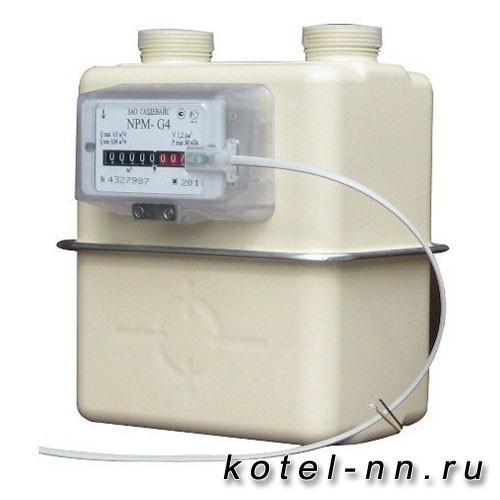 Счетчик газовый Газдевайс NPM-G 4 левый