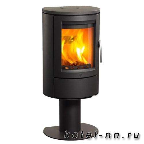 Камин Эван Varde Aura 11 черная сталь