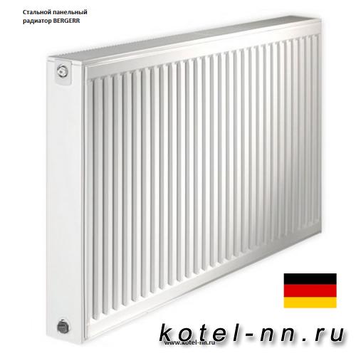 Стальной панельный радиатор Bergerr К 22-500-900