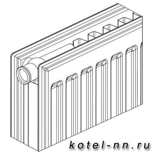 Стальной панельный радиатор Bergerr VK RIGHT 21-500-600