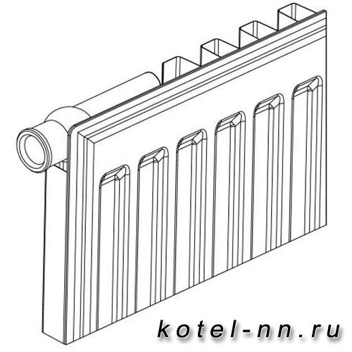 Стальной панельный радиатор Bergerr К 11-500-1000
