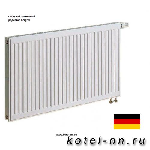 Стальной панельный радиатор Bergerr VK RIGHT 22-300-900