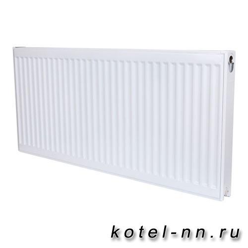 Стальной панельный радиатор ROMMER 33 500х1000 нижнее подключение Ventil