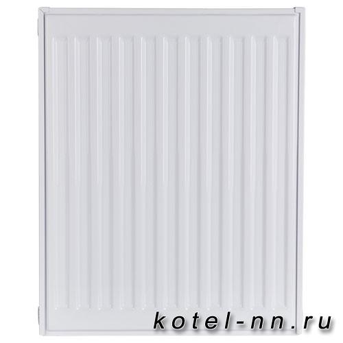 Стальной панельный радиатор ROMMER 33 500х600 нижнее подключение Ventil