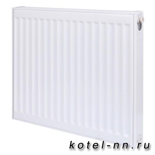 Стальной панельный радиатор ROMMER 33 300х500 боковое подключение Compact