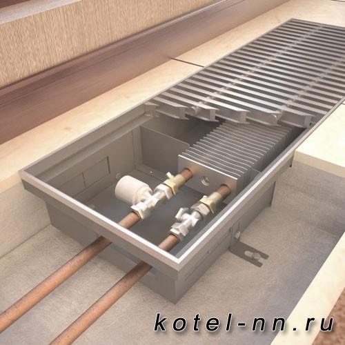 Внутрипольные конвекторы TECHNO Usual P KVZ 370-105